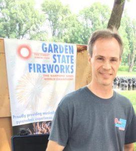 Chris Garden State Fireworks